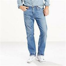 NEW MENS LEVIS 505 BLUE JEANS REGULAR FIT STRAIGHT LEG 005051476 38 32 36 30