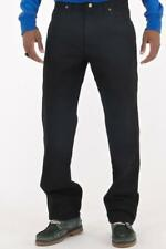 NEW MENS WRANGLER BLACK JEANS REGULAR FIT U SHAPE STRAIGHT 32 34 36 38 42 44 46