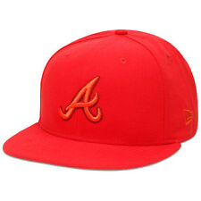 Atlanta Braves New Era Tonal Pop 59FIFTY Fitted Hat - Hot Red