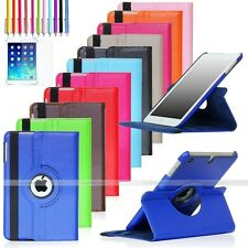 For Apple iPad Mini 1 / 2 / 3 Retina 360 Rotating Leather Case Cover Stand