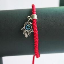 Lucky Red String Thread Bracelets Blue Eye Charm for Women Friendship Jewelry wi