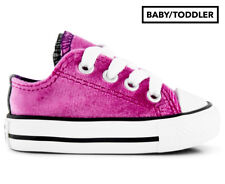 Converse Baby/Toddler Chuck Taylor All Star Double Tongue OX Shoe - Pink Sapphir