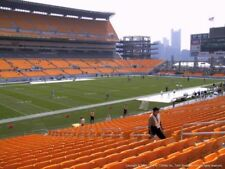 4 TICKETS CLEVELAND BROWNS @ PITTSBURGH STEELERS 10/28 *Sec 130 Row H*