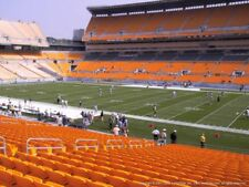 2 TICKETS CLEVELAND BROWNS @ PITTSBURGH STEELERS 10/28 *Sec 138 Row R AISLE*