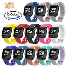 13 Color Replacement Women Men S/L Sports Watch Band for Fitbit Versa Smartwatch