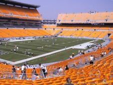 2 TICKETS LA CHARGERS @ PITTSBURGH STEELERS 12/2 *Sec 105 Row P*
