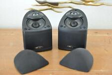 Mirage Nanosat 5.0 Black Audiophile Quality Compact Speakers Pair of Two (2)