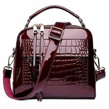 Women Crocodile Leather Fashion Shopper Tote Bag Female Luxury Shoulder Handbag