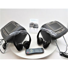 Invision GMT900 Revolution Series Dual DVD Headrest System GM