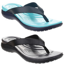 Crocs Capri V Flip Sandals Womens Croslite Foam Footbed Toe Post Flip Flops