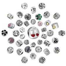 Clips Charms Bead  Fit 925 Silver Sterling Bracelets Necklace