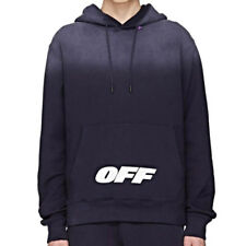 Off-White Wing Off Logo Hoodie Blue Size XS S M L XL Mens Apparel New