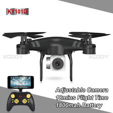 FPV Drone RC Quadcopter 2MP 720P HD Camera WIFI Live Video One Key Off / Landing