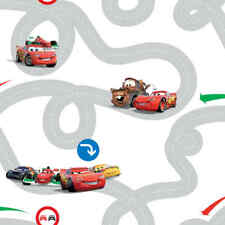 Kids at Home Wallpaper Cars Racetrack  Multicolour Background Wall DF72599