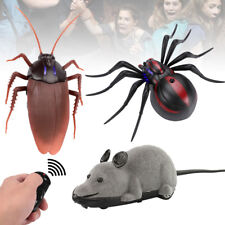 Remote Control Mock Fake Cockroach RC Toy Prank Insect Joke Scary Trick Bugs New