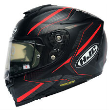 HJC Rpha 70 Dipole MC1SF Motorcycle Helmet Sun Visor Integral Black Red Grey