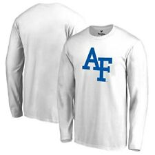 Air Force Falcons Fanatics Branded Primary Logo Long Sleeve T-Shirt - White