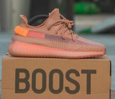 Adidas Yeezy Boost 350 V2 Clay 100% auth. Size 8-12 Mens Shoes Kanye West EG7490