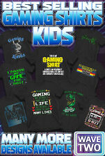 Kids Retro Gaming T-Shirt Boys Girls N64 PS4 Xbox Nintendo 80s Gamer Top Gift