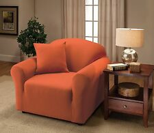 JERSEY COVERS (CHAIR/SOFA/LOVESEAT/RECLINER)--TANGERINE--