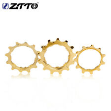 ZTTO MTB Bike Steel K7 Cassette Gold Cog 11/12/13T Cogs Freewheel Bicycle Parts