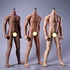 12'' Male Seamless Body 1/6 Scale Action Figure Dolls Full Silicone Doll Toy