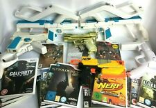 Wii - Gun's + Games - Choose your Bundle ! Tracked Delivery ! **Multi Listing**
