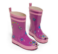 NWT Kidorable Childrens Butterfly Rain Boots NEW