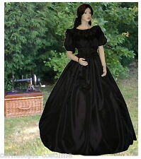 LADIES VICTORIAN / AMERICAN CIVIL WAR COSTUME - 3PC BL