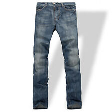 NEW MENS FOX JEANS DENIM MEN'S BLUE JEANS SIZE 32,34,36,38,40,42,44