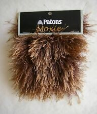 Patons MOXIE Faux Fun Fur Yarn 1 skein Select Color