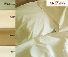 2 Pack 100% Sateen Cotton Sheet Set for Airstream Single Bunk 34x78 Corner Curve