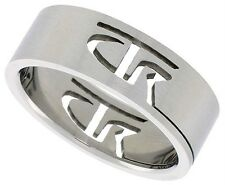 CTR Latter Day Saints Ring Stainless Steel Mormon LDS Choose The Right Band
