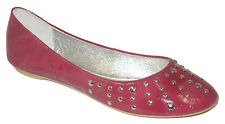 NEW $80 LOVE BILLY Pink Ballet Flats Ladies Shoes size 5 6 8 Womens Shoes