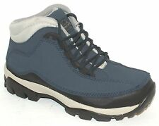 WOMENS LADIES BLUE STEEL TOE CAP SAFETY WORK BOOTS 4-8
