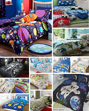 Boy's Duvet Cover Bedding Sets Single & Double Sizes. Kid's Bed linen. New