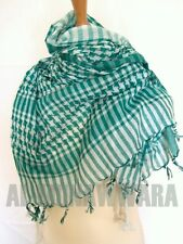 Arabian Style Chequered Scarf/Shemagh/Keffiyeh - Choose Colour