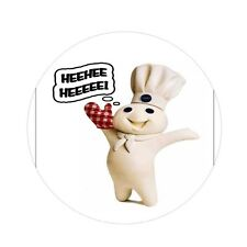 PILLSBURY DOUGHBOY MAGNET MIRROR PIN BACK BUTTON YOU CHOOSE. NOVELTY COLLECTIBLE