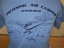 "T-SHIRT PIETENPOL AIR CAMPER ""ALMOST HOME"" by JAY COTTING, airplane"
