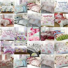 Floral Duvet Cover in Double & Kingsize - Flowery Bed Linen - Shabby Chic - New