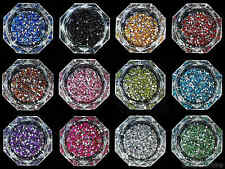 Selection of 2mm Round Shape Rhinestones in Varies Colors and Lots