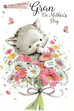 cute GRAN mother's day card - 8 x gran mothers day cards to choose from!