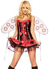 Sexy Lady Bug Adult Halloween Costume Ladybug Outfit