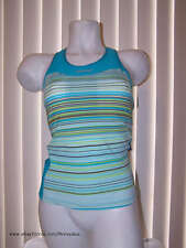 new Zoot Women's Runfit Stripe Racerback running top w/ endurance sports bra