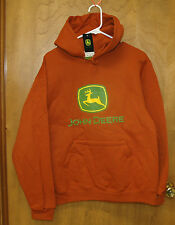 NEW John Deere Texas Orange Hoodie Sweatshirt S M L XL 2X 3X JD