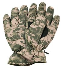 GLOVES INSULATED HUNTING GLOVES ACU DIGITAL CAMO ROTHCO 4955