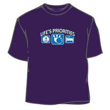Life's Priorities Bowling T-Shirt