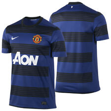 Nike Manchester United  2011-2012 Away Soccer Jersey Brand New Royal Blue