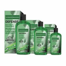 Intimate Organics Defense Organic Anti-Bacterial Lubricant USDA Organic