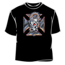 Skull Iron Cross T-Shirt